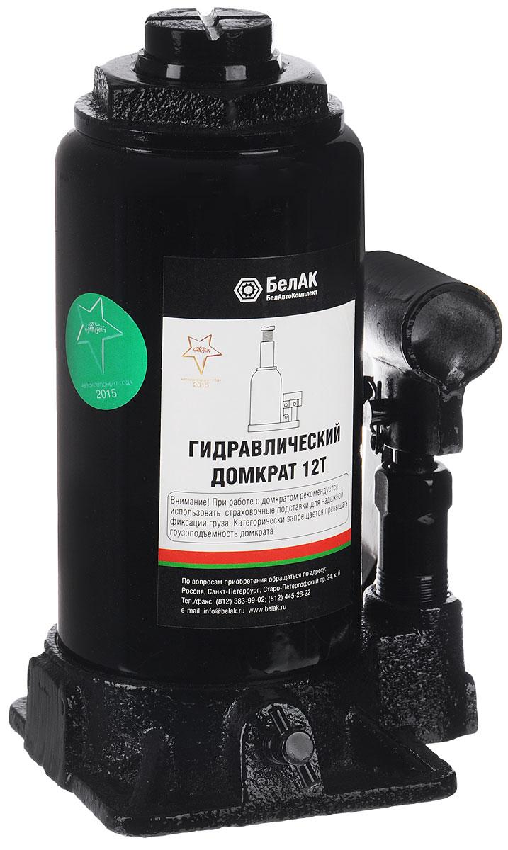 Домкрат бутылочный БелАвтоКомплект, 12 т