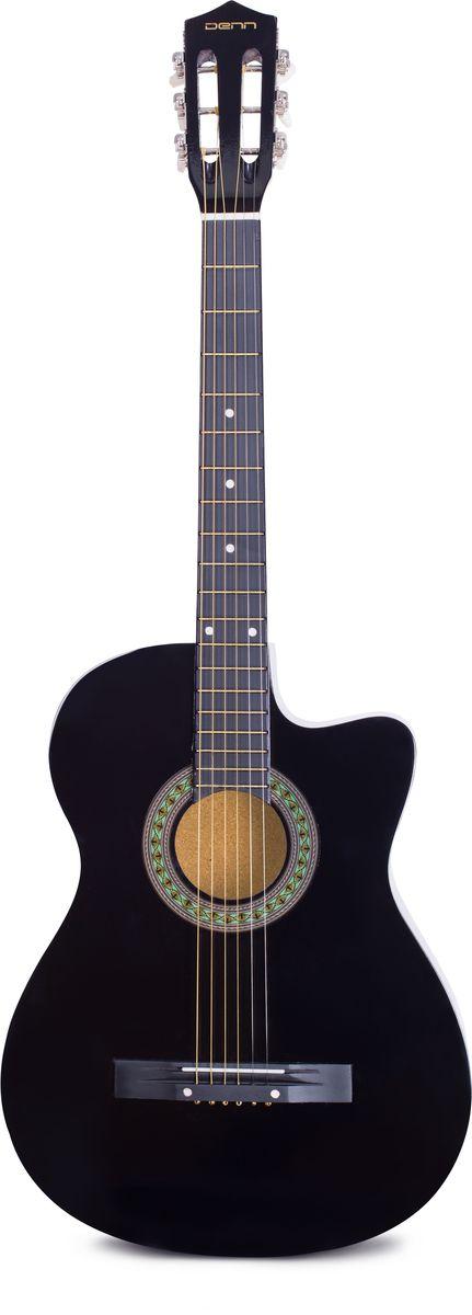 Denn DCG395 акустическая гитараDCG395Denn DCG395 - классическая акустическая шестиструнная гитара. Корпус инструмента изготовлен из клена и липы и имеет лакированное покрытие. Эту гитару вы всегда сможете взять с собой. Рекомендуем!