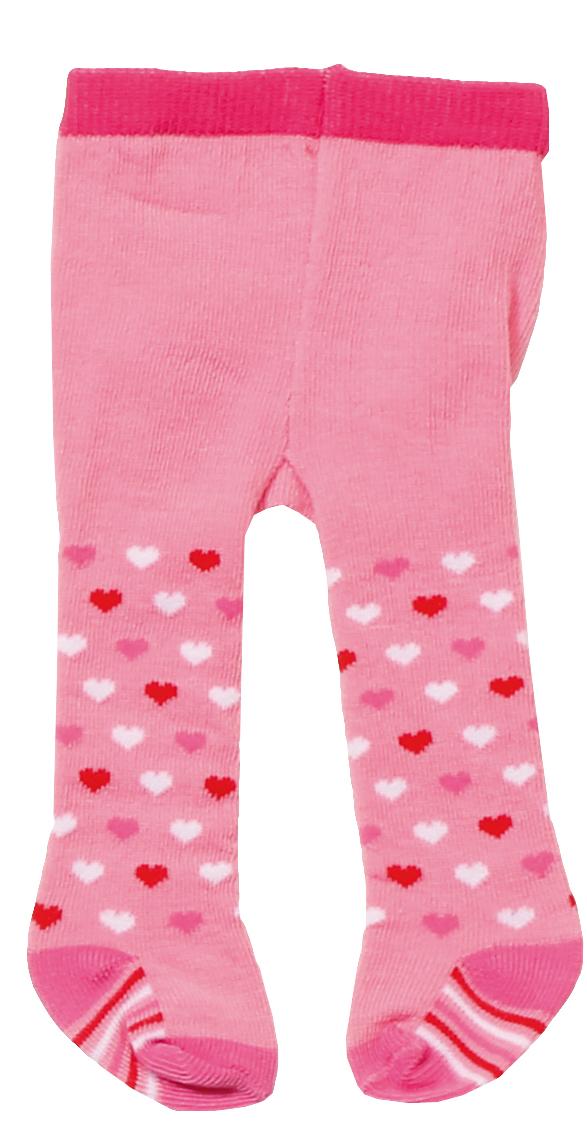 Baby Born Одежда для кукол Колготки цвет розовый 2 пары baby born пустышка для кукол