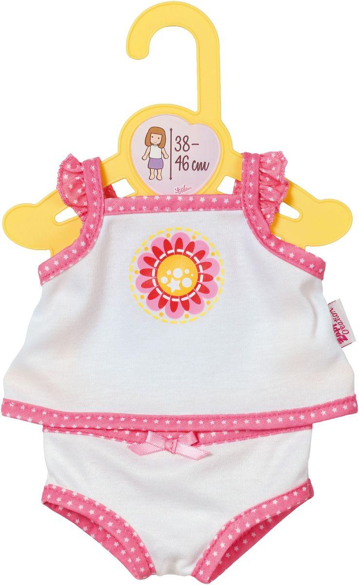 Baby Born Нижнее белье для куклы цвет белый розовый цена