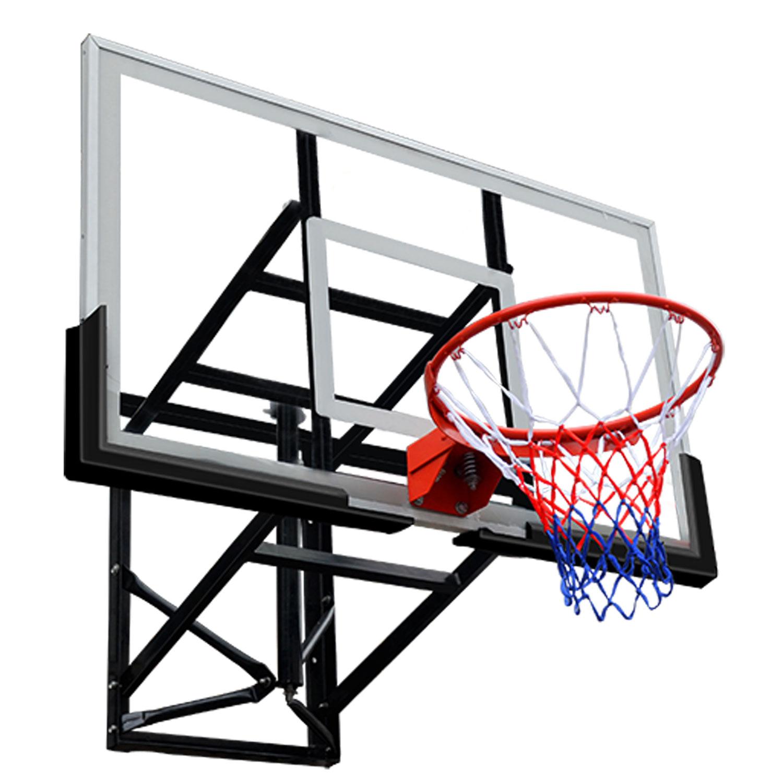 Баскетбольный щит DFC BOARD48P 120x80 см поликарбонат баск щит dfc board32 80x58cm полиэтилен прозрачный