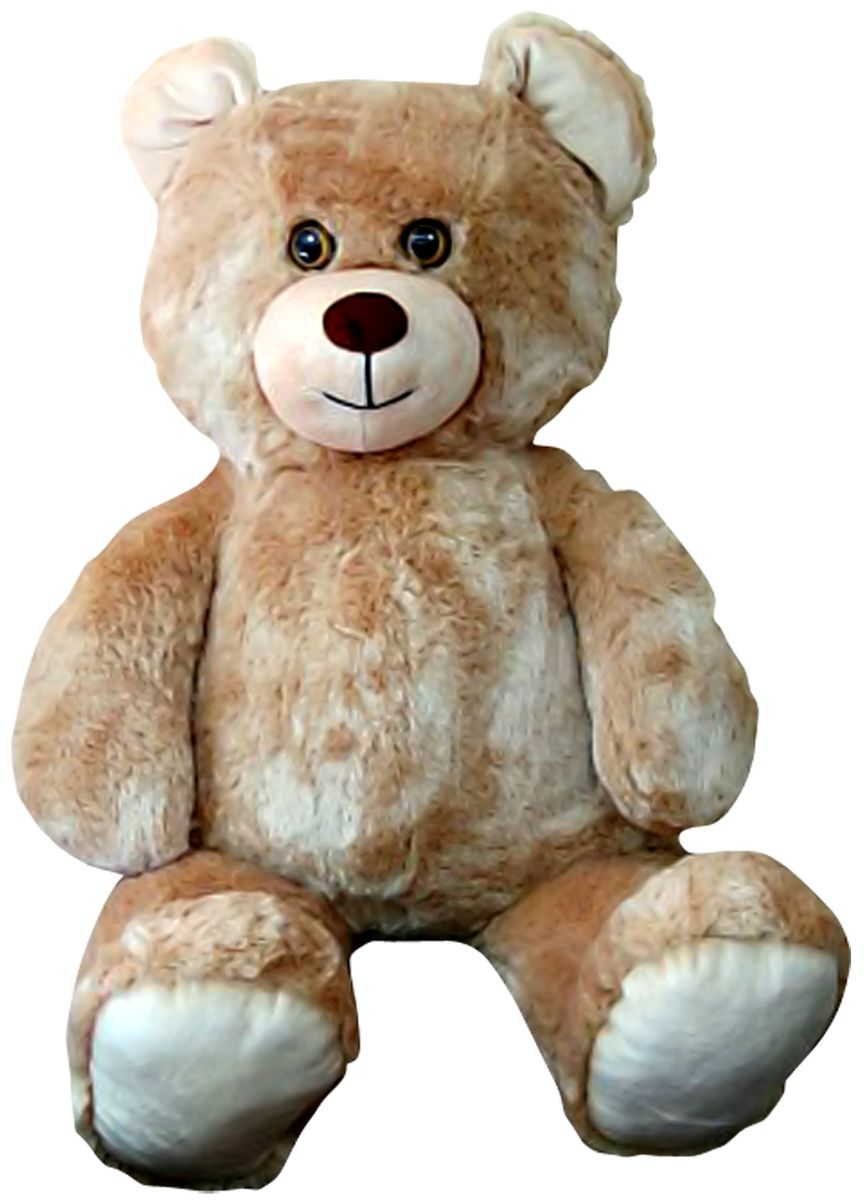 СмолТойс Мягкая игрушка Медведь цвет бежевый 103 см