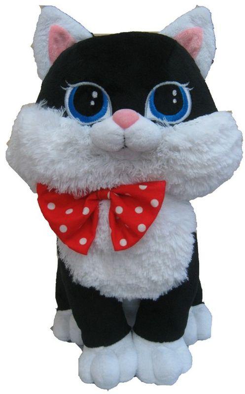 СмолТойс Мягкая игрушка Кошка Люси цвет черный 42 см