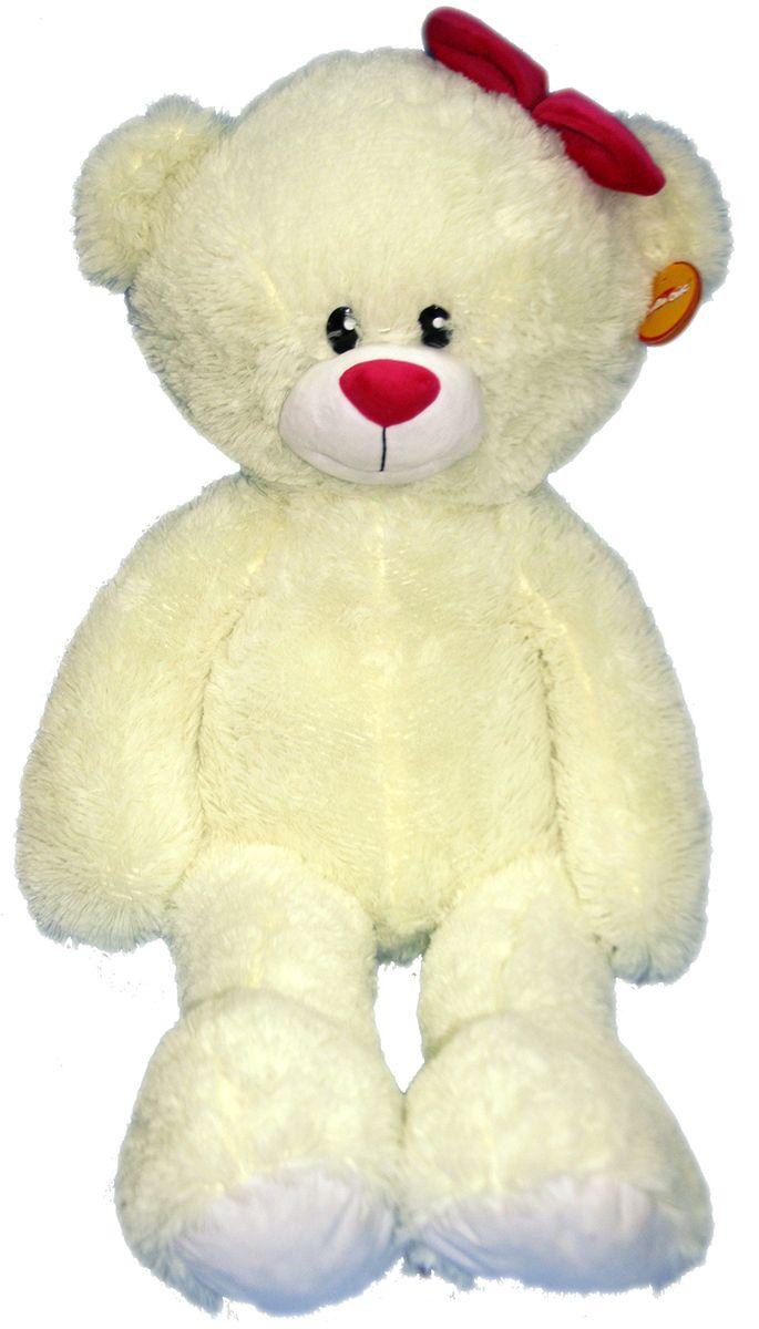 СмолТойс Мягкая игрушка Мишка Лапа цвет молочный 103 см