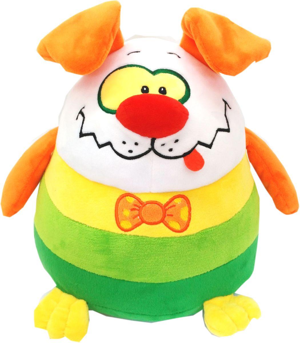 СмолТойс Мягкая игрушка Щенок-шарик 27 см