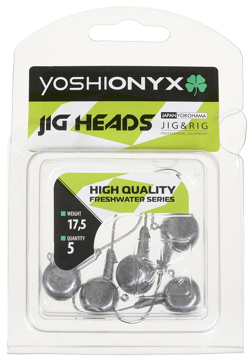 Джиг-головка Yoshi Onyx JIG Bros. Аспирин, крючок Gamakatsu, 17,5 г, 5 шт удилище спиннинговое yoshi onyx genta 862mh