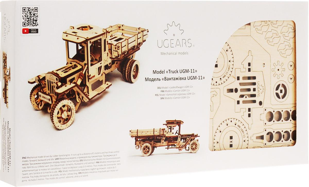 Ugears Деревянная модель Грузовик UGM-11 ugears сборная деревянная модель манипулятор на рельсах