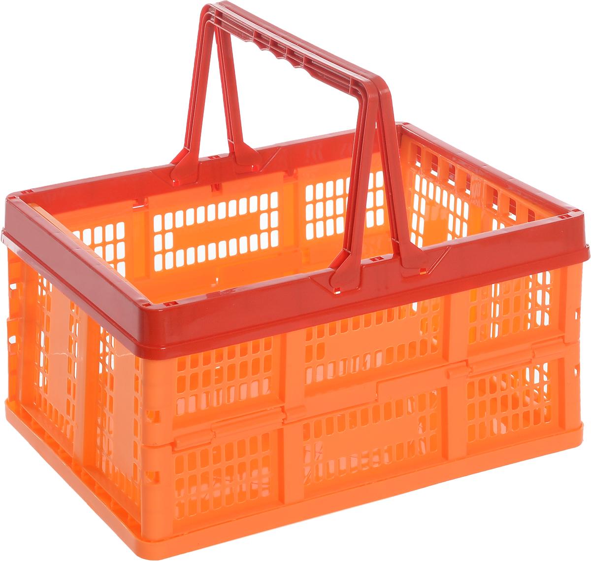 Ящик универсальный Альтернатива, раскладной, цвет в ассортименте, 38,5 х 25,5 х 21 см ящик универсальный альтернатива раскладной цвет в ассортименте 38 5 х 25 5 х 21 см