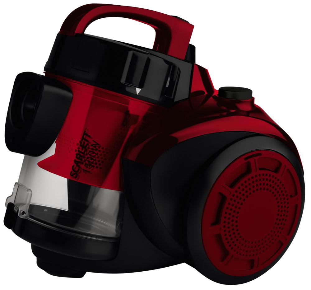 Фото - Пылесос Scarlett SC-VC80C11, Red пылесос с контейнером для пыли scarlett sc vc80c95 пылесос sc vc80c95