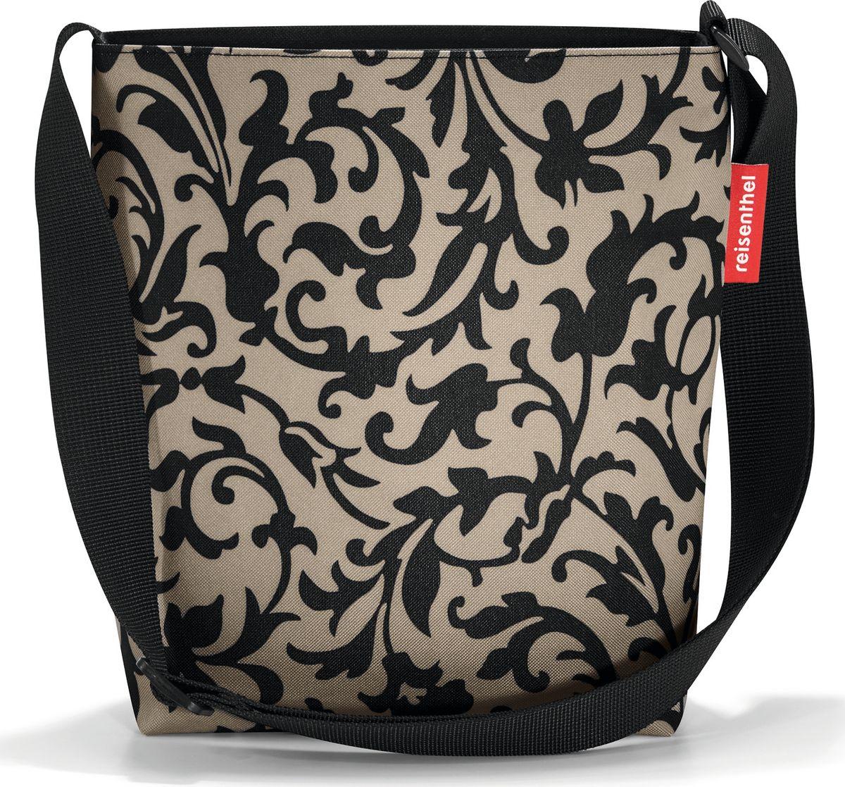 Сумка женская Reisenthel Shoulderbag S, цвет: бежевый, черный. HY7027 сумка женская reisenthel цвет бежевый черный ms7027