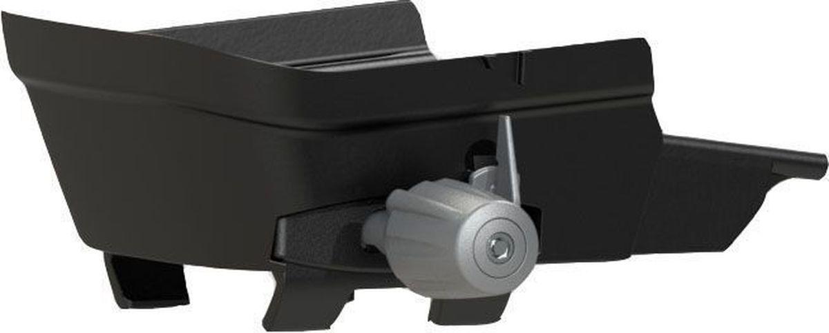 Адаптер для установки детского велокресла Hamax Zenith, на багажник, цвет: черный, серый багажник для велосипеда
