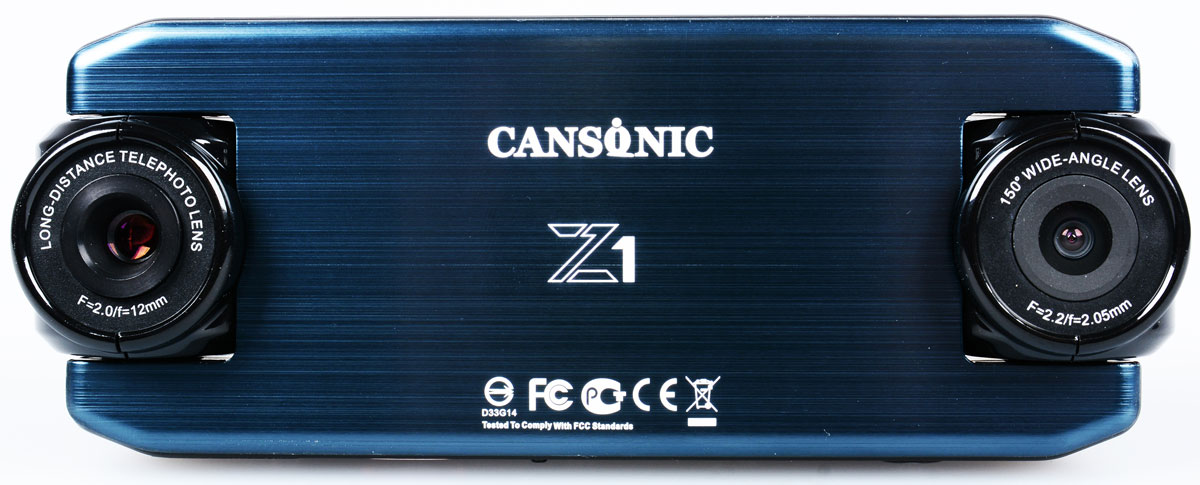 Cansonic Z1 Zoom GPS, Black видеорегистратор видеорегистратор cansonic