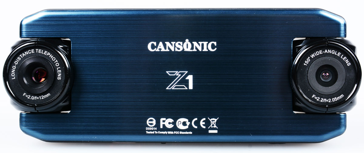 Cansonic Z1 Zoom, Black видеорегистратор видеорегистратор cansonic
