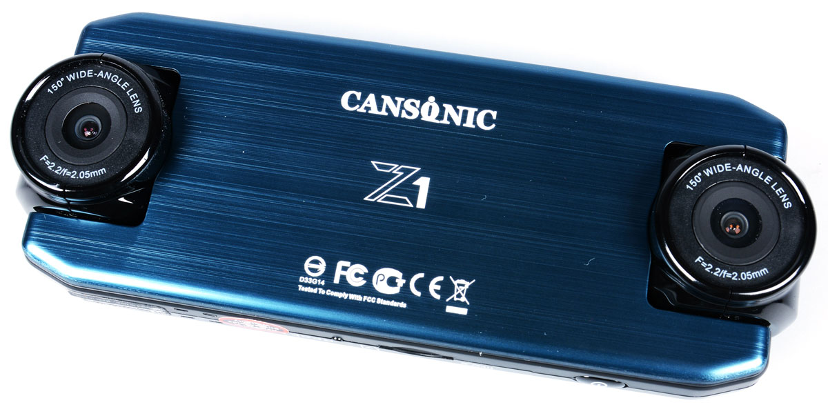 Cansonic Z1 Dual, Black видеорегистратор видеорегистратор cansonic