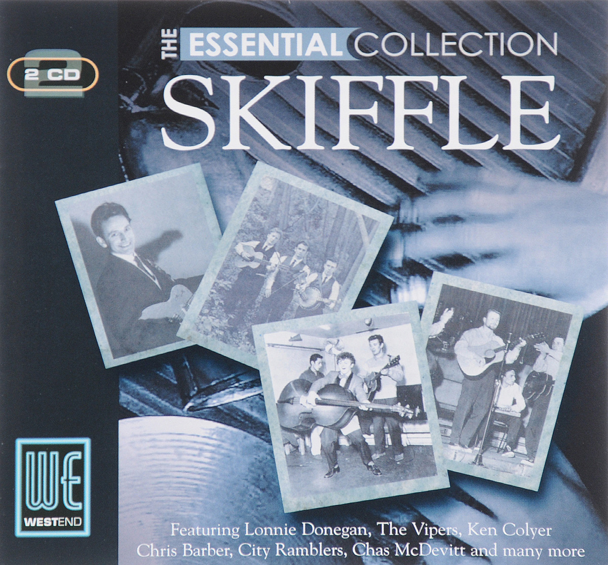 Lonnie Donegan Skiffle Group,The Vipers Skiffle Group,Chas McDevitt Skiffle Group,Джонни Дункан,Алан Ломакс,Peggy Seeger Group,Ken Colyer Skiffle Group,Johnny Parker's Washboard Band,City Ramblers Skiffle Group,Betty Smith's Skiffle Group Essential Collection. Skiffle (2 CD)