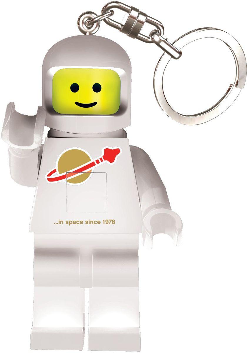 LEGO Classic Брелок-фонарик Spaceman цвет белый usb перезаряжаемый высокой яркости ударопрочный фонарик дальнего света конвой sos факел мощный самозащита 18650 батареи