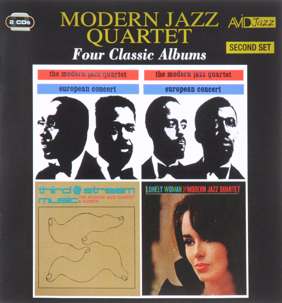 The Modern Jazz Quartet,The Guests Avid Jazz. Modern Jazz Quartet. Four Classic Albums. Second Set (2 CD) vic firth mjc1 modern jazz collection 1