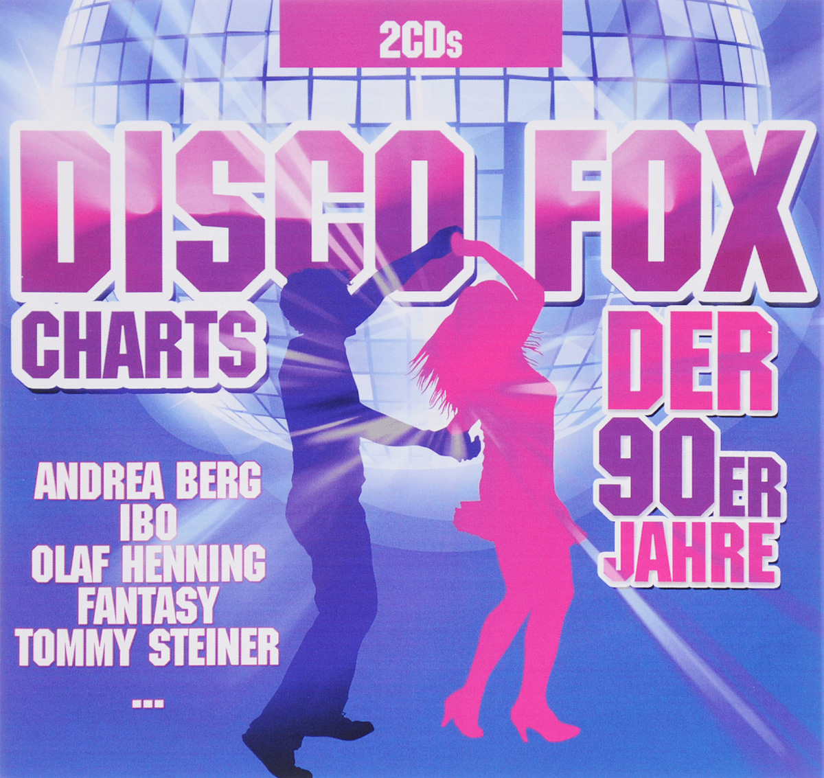 Ibo,Andrea Berg,Олаф Хеннинг,Олаф Бергер,Мэри Рос,Вики Леандрос,Fantasy,Nico Gemba,Эльке Мартенс Disco Fox Charts Der 90er Jahre (2 CD) deutscher disco fox 2011 2 cd