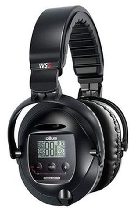 Беспроводные наушники для металлоискателя XP WS5 наушники xp ws5 для deus беспроводные