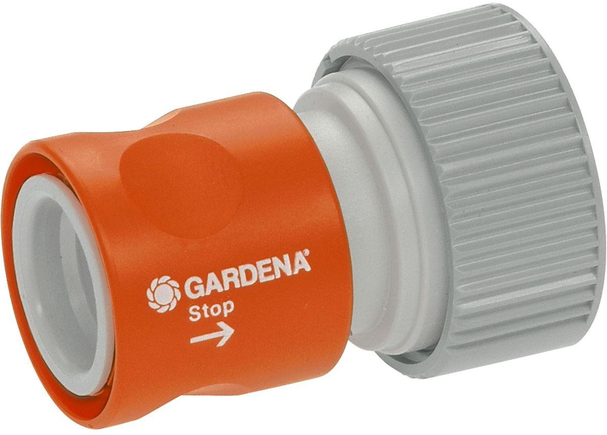 Коннектор Gardena Профи, с автостопом коннектор gardena профи с автостопом