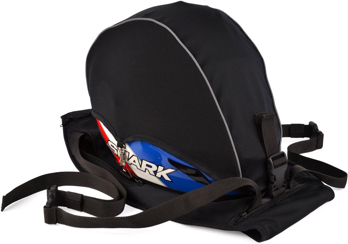"Рюкзак для шлема ""Starks"", цвет: черный"