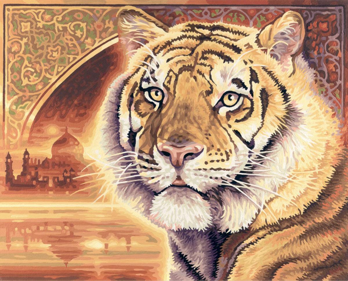 Набор для рисования по номерам Schipper Тигр, 40 х 50 см