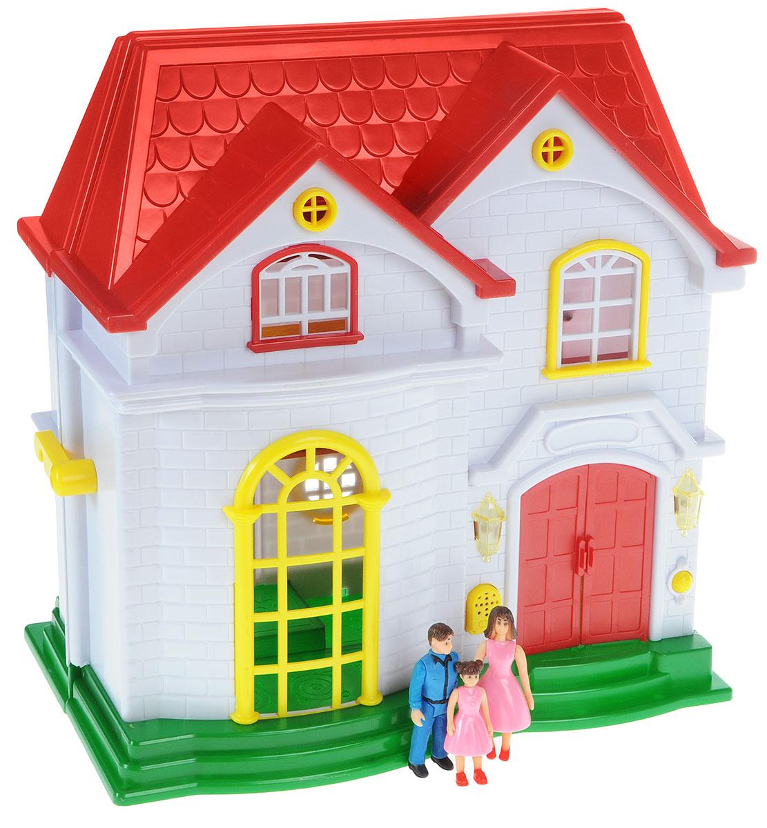 Golden Toys Дом для кукол Мой любимый дом