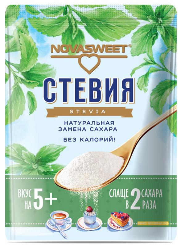 Novasweet стевия столовый подсластитель, 200 г цена