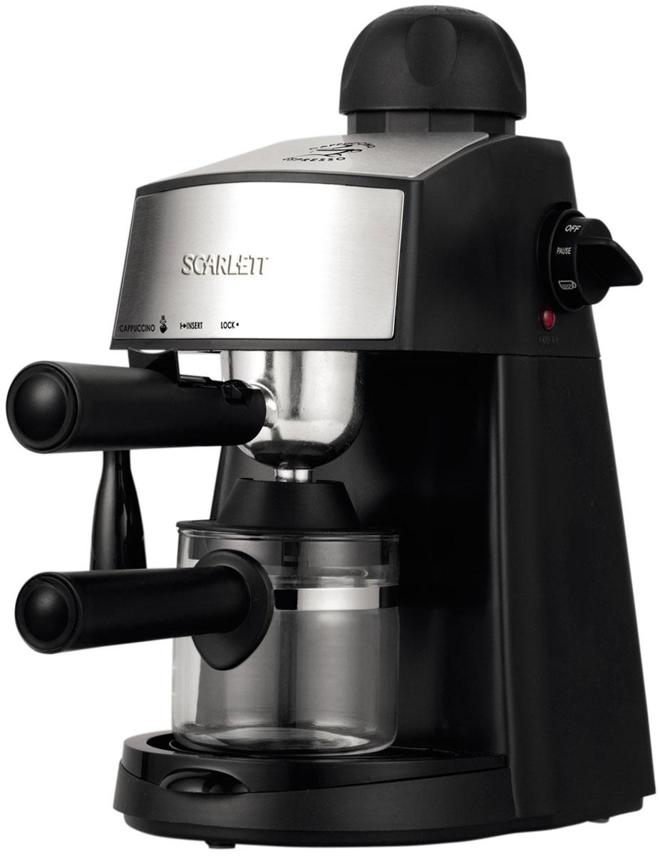 лучшая цена Кофеварка рожковая Scarlett SC-CM33004, Black