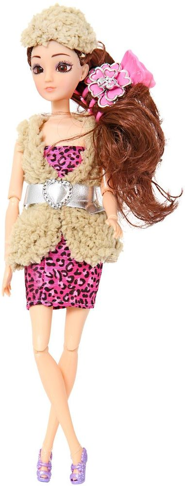 Veld-Co Кукла цвет одежды бежевый розовый