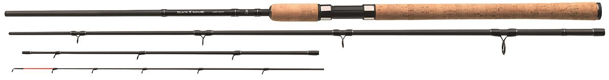 Удилище фидерное Daiwa Black Widow Feeder, 3,9 м, до 150 г
