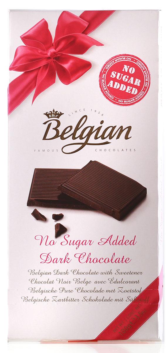 The Belgian Шоколад горький без сахара, 100 г шоколад mr cho горький шоколад без сахара 300 г