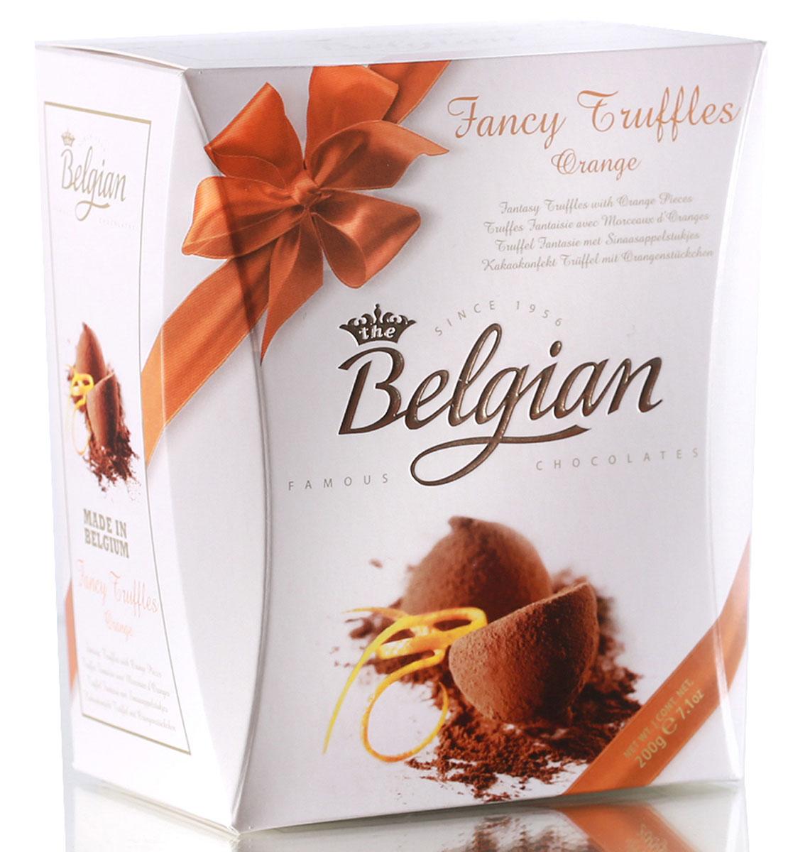 The Belgian Трюфели с кусочками апельсинов, 200 г
