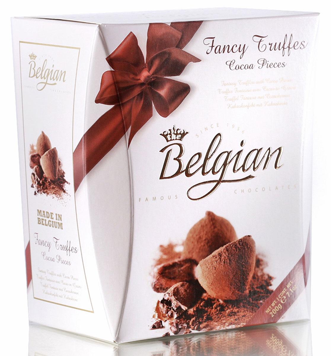 The Belgian Трюфели со вкусом какао, 200 г the belgian трюфели с кусочками апельсинов 200 г