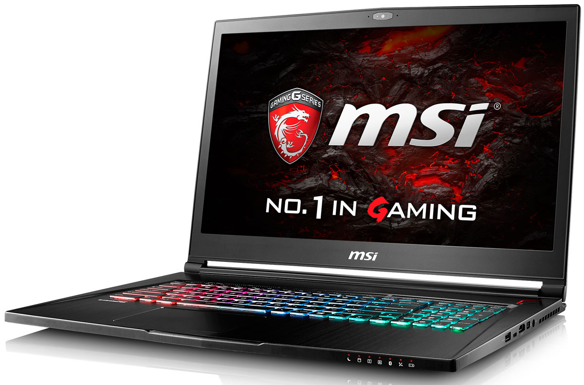 """17.3"""" Игровой ноутбук MSI GS73 Stealth Pro 7RE 9S7-17B412-015, черный"""