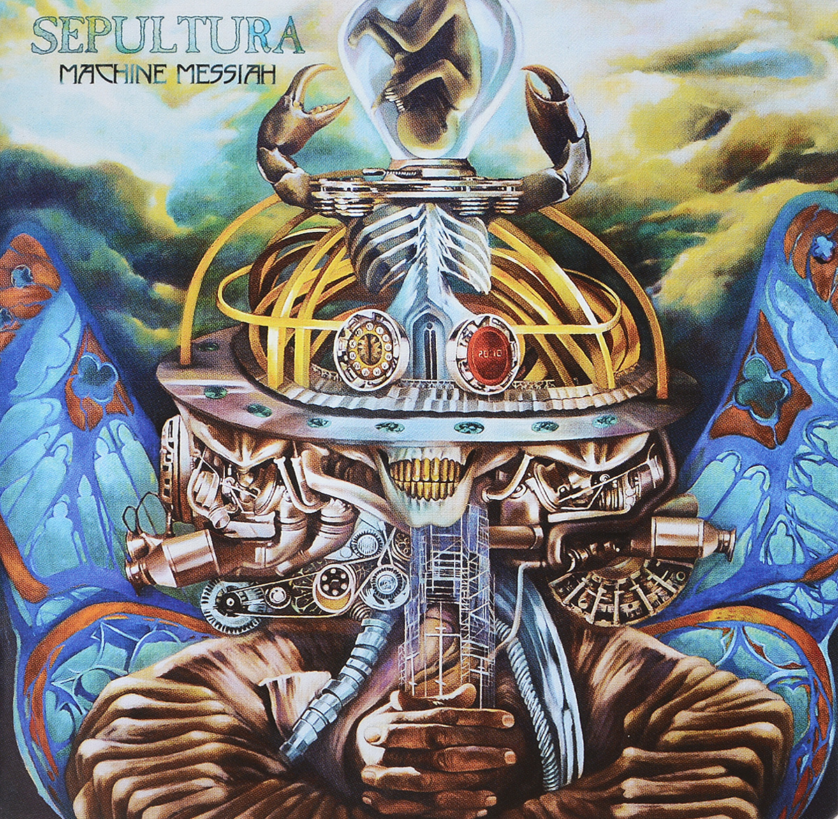 лучшая цена Sepultura Sepultura. Machine Messiah