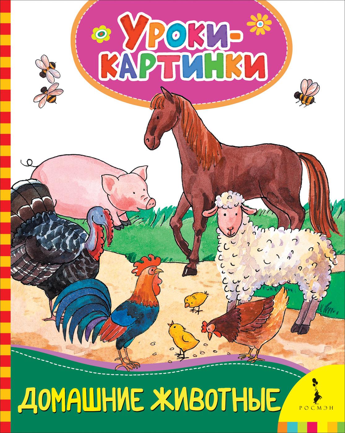 Е. К. Мазанова Домашние животные. Уроки-картинки