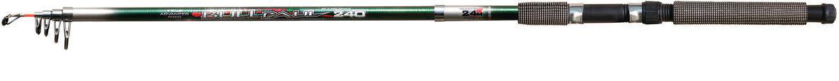 Удилище спиннинговое SWD Bull-Paul, телескопическое, 2,4 м, 30-60 г