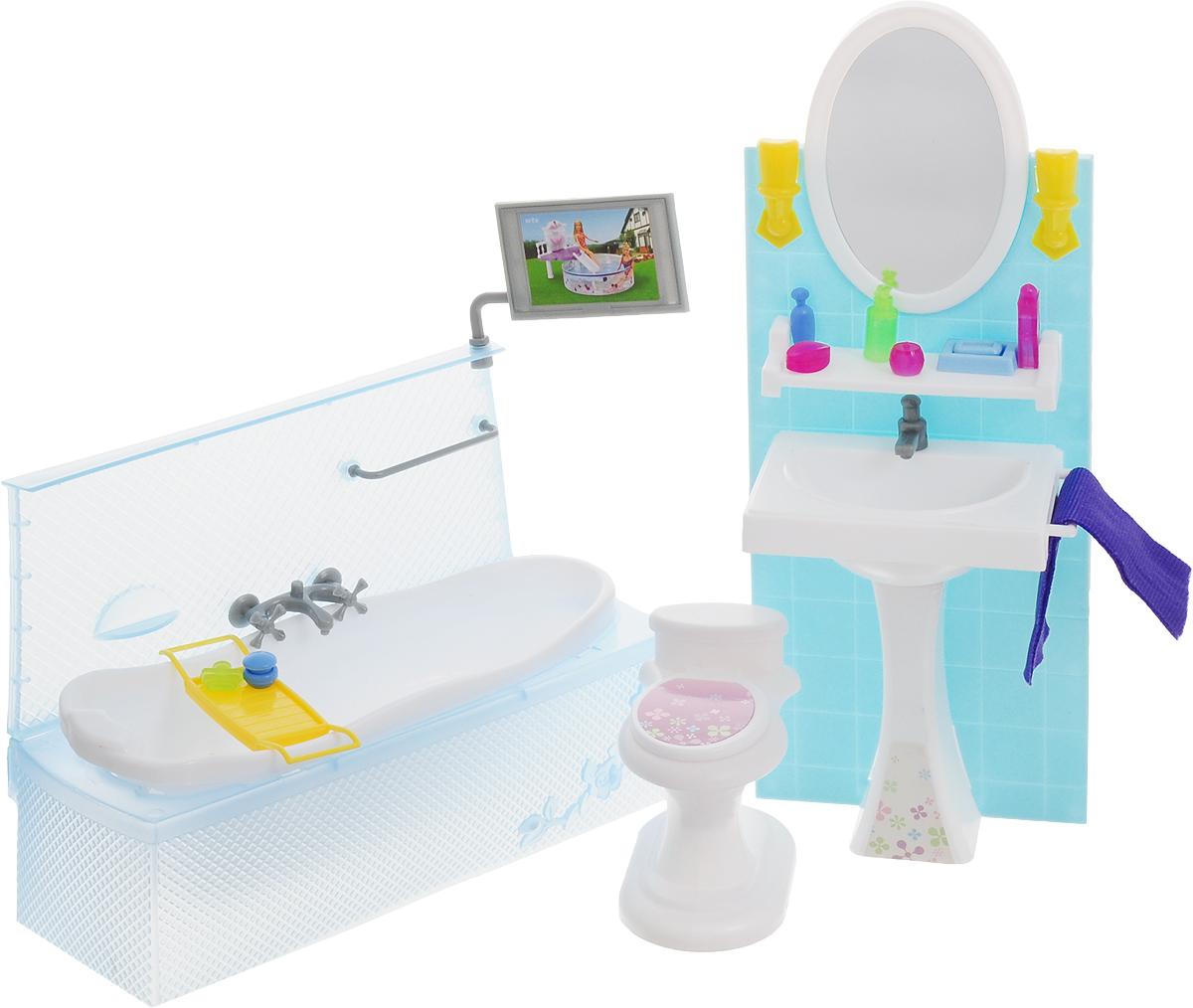 Well Success Toys Мебель для кукол Ванная комната