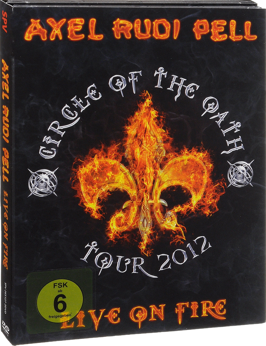 Axel Rudi Pell: Live On Fire (2 DVD) the dreaming jewels