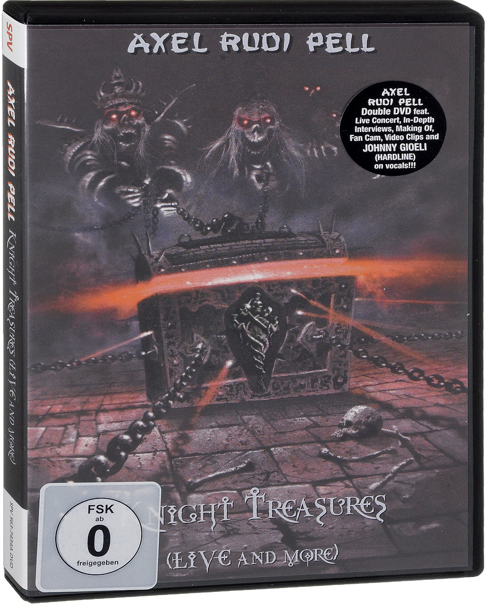 Axel Rudi Pell: Knight Treasures: Live And More (2 DVD) цена и фото