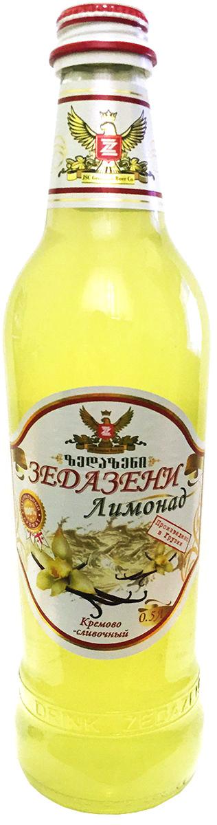 Зедазени Лимонад Кремово-Сливочный, 500 мл balis vegan лимонад с базиликом и имбирем 250 мл