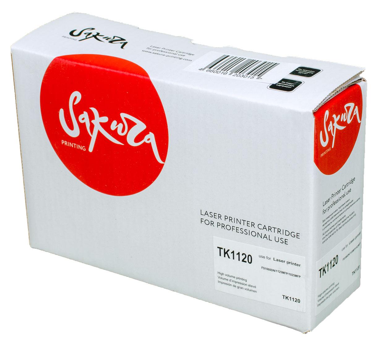 Sakura TK1120, Black тонер-картридж для Kyocera FS1060DN/FS1125MFP/FS1025MFP