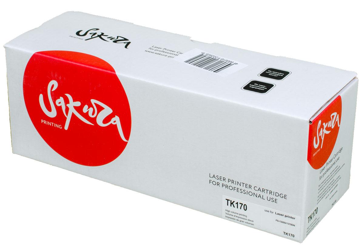 Sakura TK170, Black тонер-картридж для Kyocera FS-1320D/1370DN