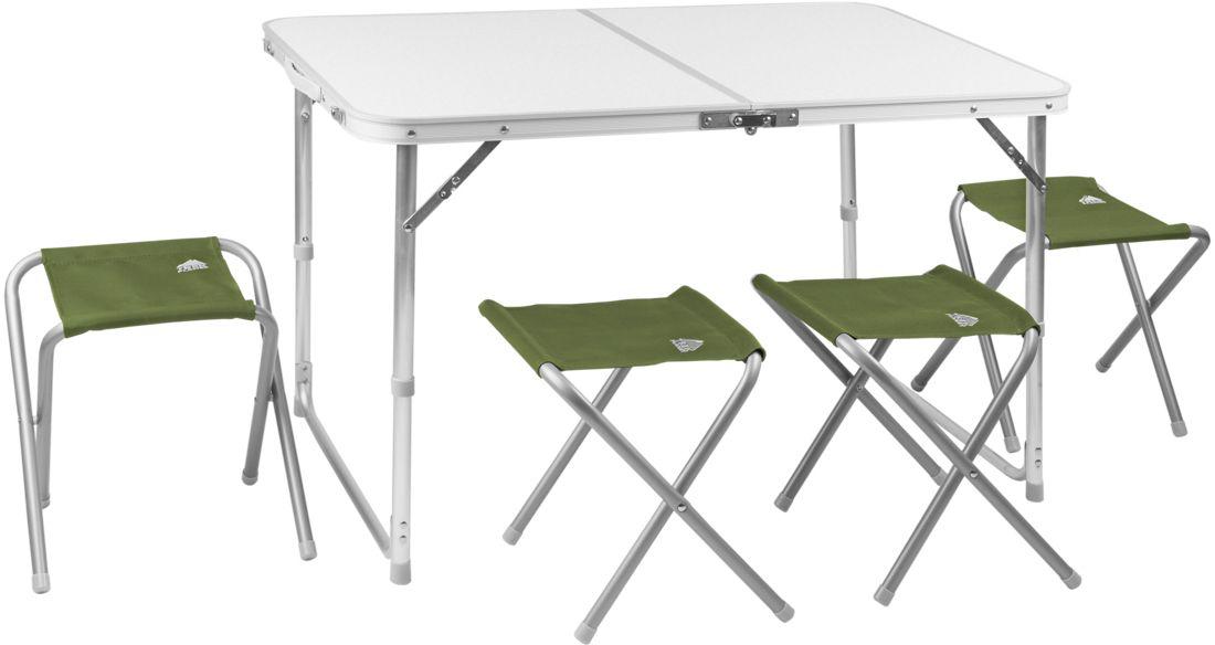 Набор складной мебели TREK PLANET Event Set 95, кемпинговый, 95 х 61 х 60 см, 5 предметов набор мебели trek planet event set 95 стол и 4 стула 70667