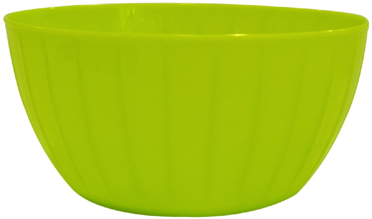 Салатник Giaretti Fiesta, цвет: оливковый, 5 л салатник berossi domino twist цвет снежно белый 0 7 л