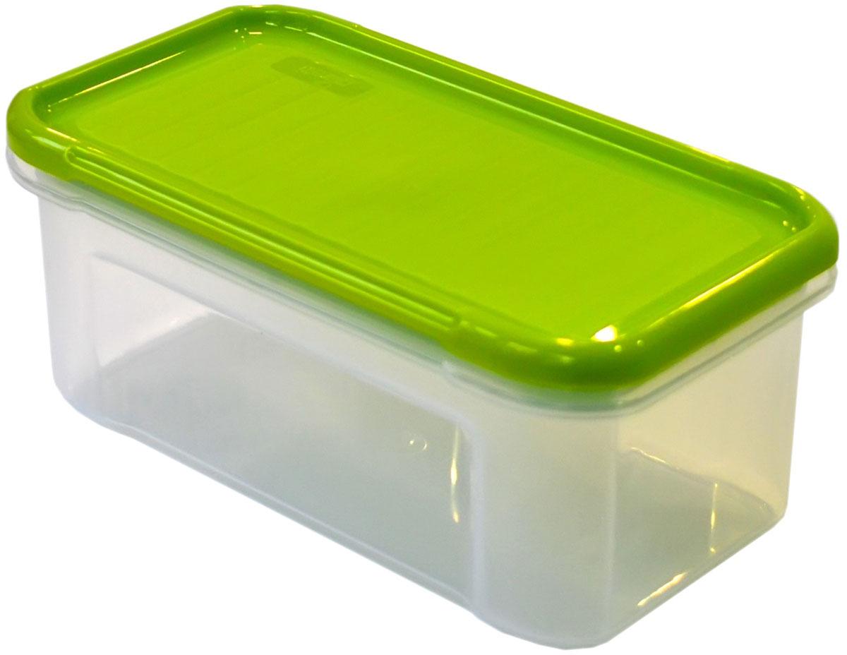 Банка для сыпучих продуктов Giaretti Krupa, цвет: оливковый, прозрачный, 500 мл банка для сыпучих продуктов giaretti krupa с дозатором цвет оливковый прозрачный 750 мл