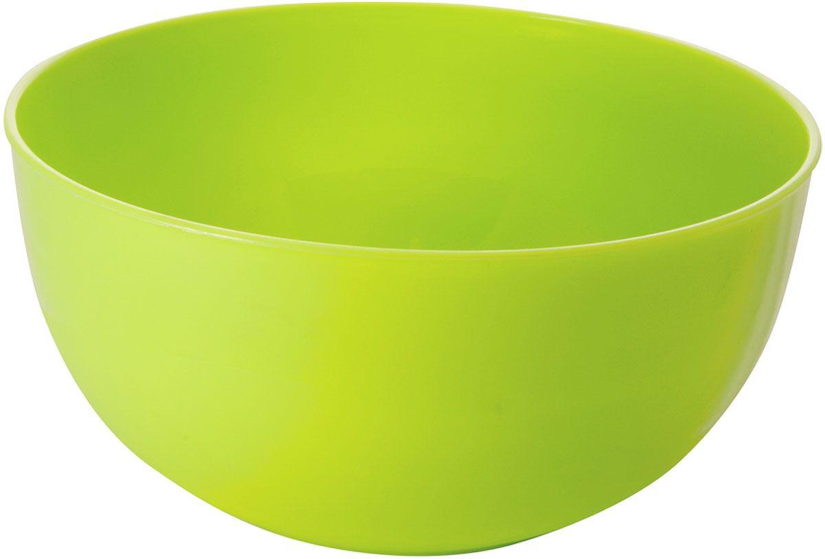 """Салатник Plastic Centre """"Galaxy"""", цвет: светло-зеленый, 550 мл"""