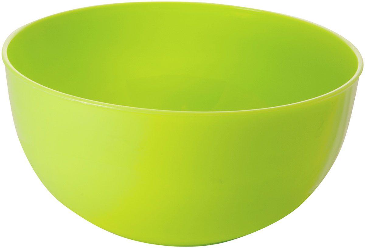 Салатник Plastic Centre Galaxy, цвет: светло-зеленый, 4 л комплект емкостей для свч plastic centre galaxy цвет светло зеленый прозрачный 5 шт