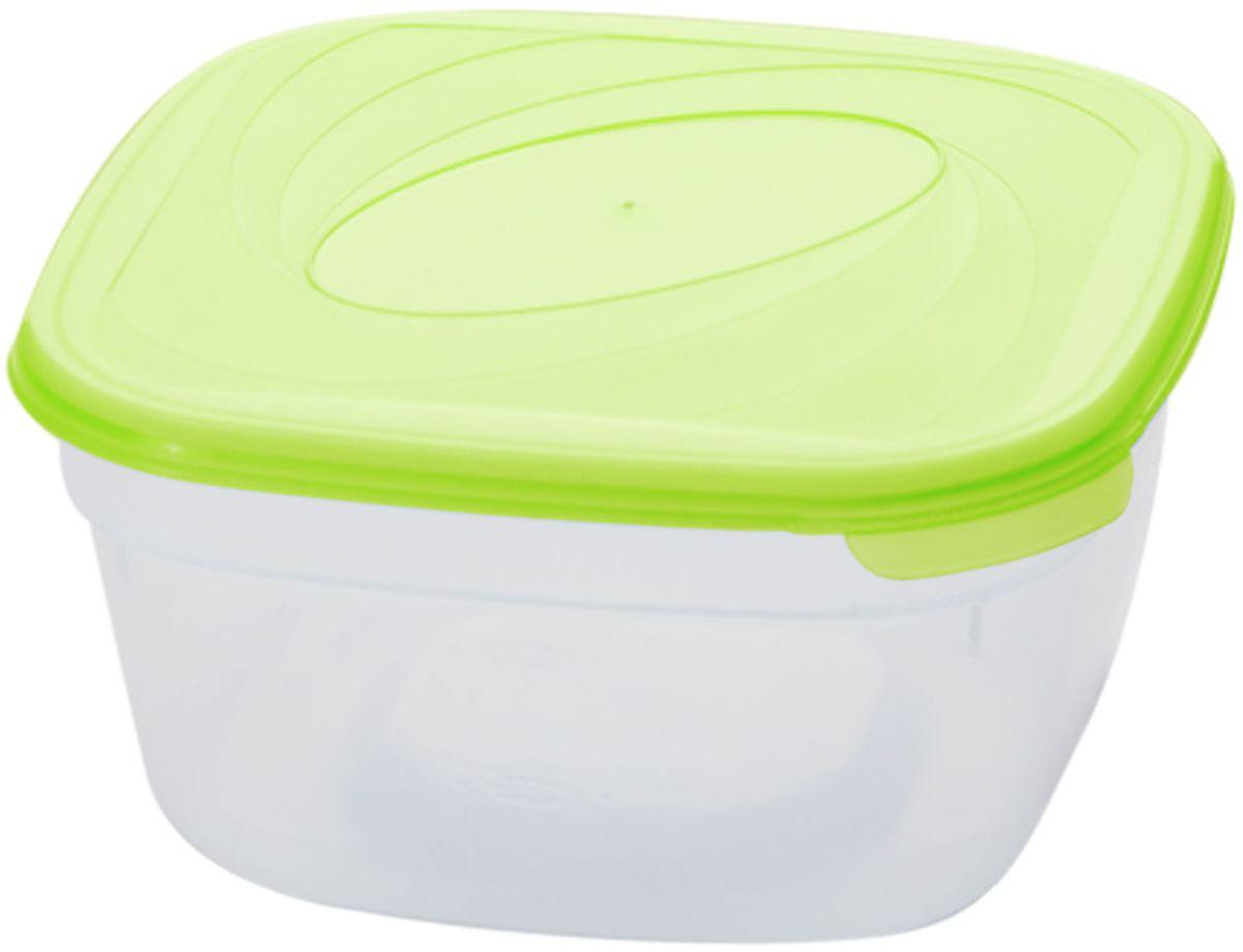 Емкость для СВЧ Plastic Centre Galaxy, цвет: светло-зеленый, прозрачный, 400 мл комплект емкостей для свч plastic centre galaxy цвет светло зеленый прозрачный 5 шт